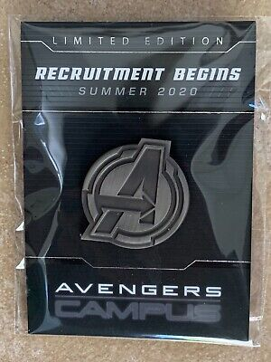 2019 D23 EXPO Avengers Campus Limited Edition Pin Disney Marvel
