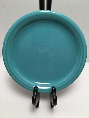 HLC Fiestaware Turquoise Blue Salad Plate Fiesta 7 1/4 in Small Plate 0464