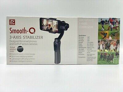 Zhiyun Smooth-Q 3-Axis Handheld Gimbal Stabilizer For iPhone Smartphones GoPro