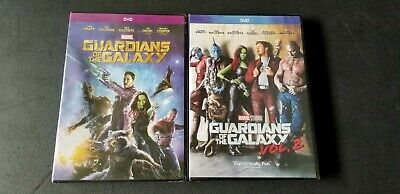 Guardians of the Galaxy Volumes 1 and 2 DVD Marvel Movies! Free Shipping!
