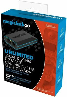 magicJackGO 2017 VOIP Phone Adapter Portable Home and On-The-Go Digital 2017
