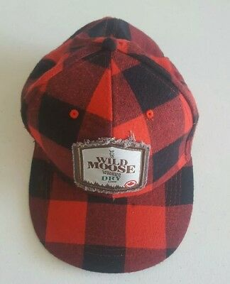 Wild Moose Candian Whisky Dry Cap Hat