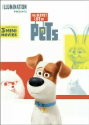 The Secret Life Of Pets (DVD, 2016) New & Sealed FREE Shipping
