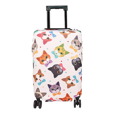 18-32'' Cartoon Elastic Luggage Cover Suitcase Protector Dustproof Anti Scratch