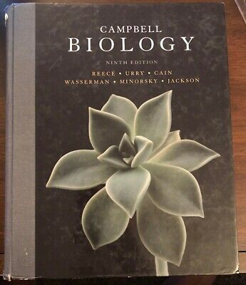 Campbell Biology, 9th edition (Textbook - ISBN: 978-0-321-558237)
