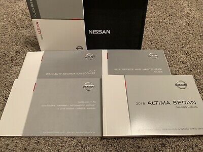 2011 Nissan Altima Owners Manual OEM Free Shipping