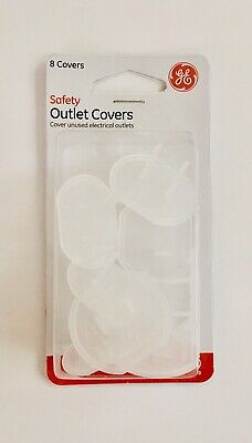 Safety Outlet Covers 8 Clear Covers Electrical Outlets