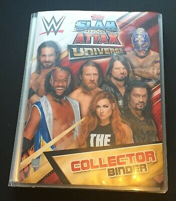 Topps Slam Attax Universe 2019 All base cards with folder binder album