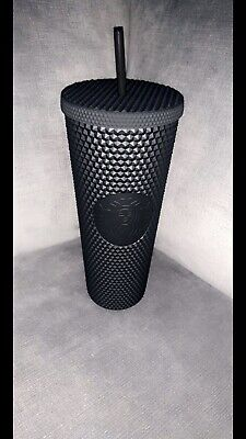 Starbucks Matte Black Studded Tumbler Cup LE Fall 2019 SOLD OUT NEW W/ TAGS NWT