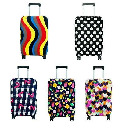 Travel Luggage Cover Protector Elastic Suitcase Dust-Proof Pure Color  hot sale