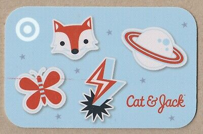 Target no value collectible gift card mint #87 Cat & Jack