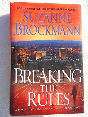 Breaking the Rules by Suzanne Brockmann (2011, Hardcover, 1st Edition)