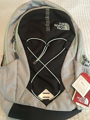 "The North Face Women's Jester Laptop 15"" Backpack Lunar Ice Grey/Subtle Green"