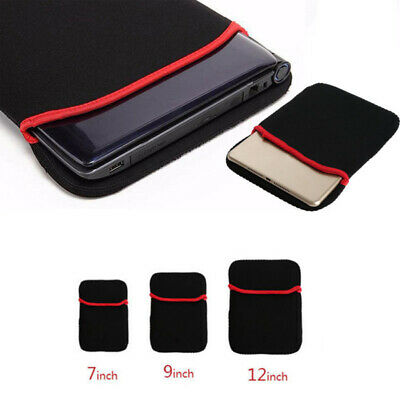 New Soft Neoprene Sleeve Case Pouch Laptop Notebook Tablet Cover Bag Protector