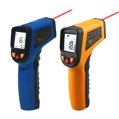 Handheld Non-contact IR Infrared Thermometer Digital Surface LCD Laser Pyrometer