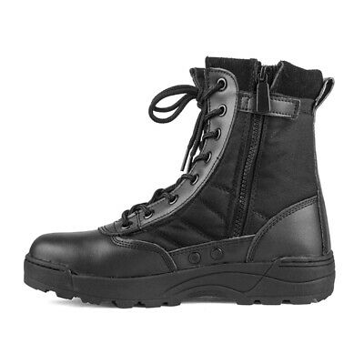 Men Breathable Tactical Combat Boots Swat Chukka Boot Outdoor Hiking Shoes AU