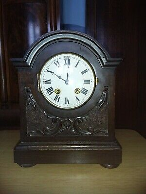 Antique HAC Mantle Clock 8 Days working order 1920s