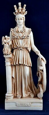 Athena minerva pallas greek statue figure NEW patina Free Shipping