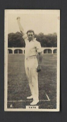 Wills (Nz) - English Cricketers - #6 Tate, Sussex