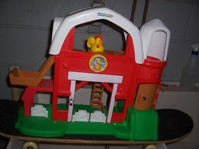 FISHER PRICE LITTLE People Farm Barn Sounds Animals - $20 ...