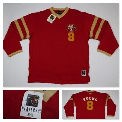 pretty nice 9205f a8c18 VINTAGE STEVE YOUNG San Francisco 49ers NFL Jersey ...