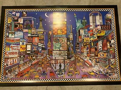 "Times Square poster - 24""x36""- NYC, New York City"