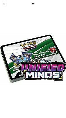 11x Sun And Moon Unified Minds Pokemon TCGO Booster Codes-Sent In eBay Mssg