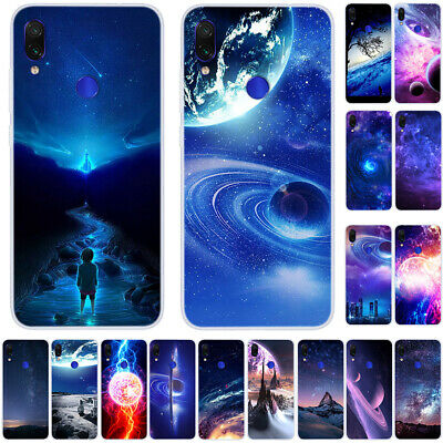 For Xiaomi Redmi Note 8 7 6 5 Pro 4X Slim Soft Silicone Painted TPU Case Cover
