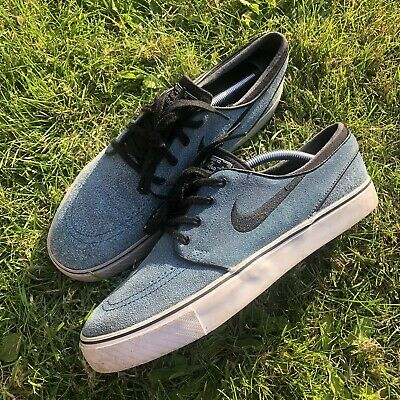 NIKE SB ZOOM Air Stefan Janoski Suede Leather Skate Trainers