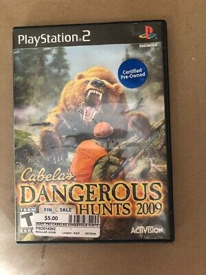 SONY Sony PlayStation 2 Game CABELAS DANGEROUS HUNTS 2009 - PS2 (PSO014392)