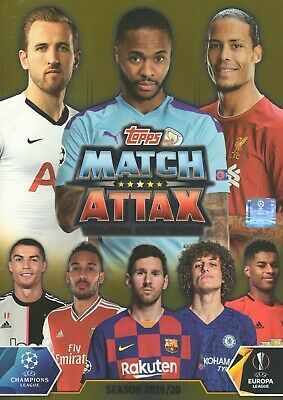Topps Match Attax 2019 2020 19 20 Starter Pack + 50 different base / team cards