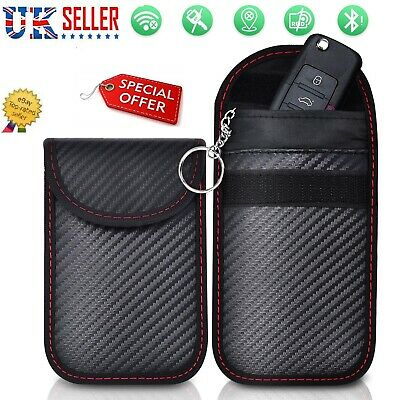 Car Key Signal Blocker Pouch Case Fob Faraday Bag RFID Security Blocking New UK✅