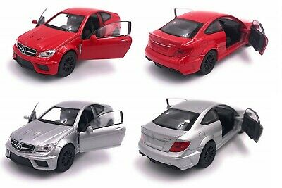 Mercedes Benz AMG C63 Limited Edition Special Offer 2 Models Red & Silver NEW
