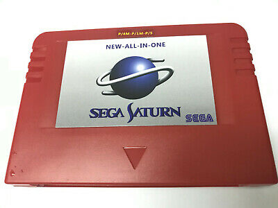 Sega Pseudo Saturn V6.314 All in One 1M 4M Ram 8M Save Action Replay backup FAST