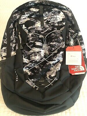 The North Face Jester Black Camo Print Backpack One Size