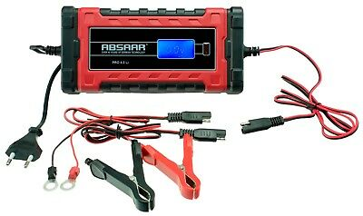 Absaar pro 4.0 Li (Lithium) Fully Automatic Charger 4 Amp 6/12 V