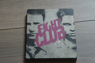 Blu Ray Steelbook Zavvi Fight Club With 3 damages (see picture)