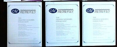 Creative Memories 8x10 Page Protectors Lot of 3 New
