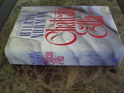 Chateau Ella by Hilary Norman (1988, Hardcover with Dust Jacket, 1st Edition)