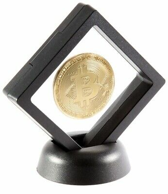 Bitcoin Challenge Coin Set with Display Case