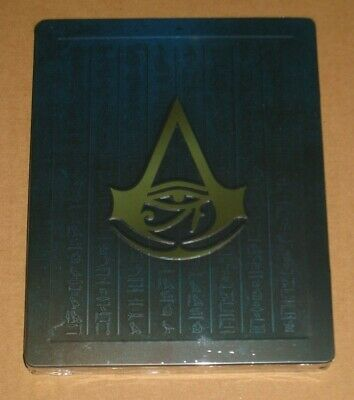 Assassins Creed Origins Dawn Creed Legendary Steelbook Edition NO GAME Sealed