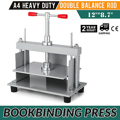 Steel Bookbinding Press Screw Bookbinder Papermaking Book Press for A4