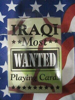 Genuine Bicycle Iraqi Most Wanted Playing Cards Sealed New Made in the USA