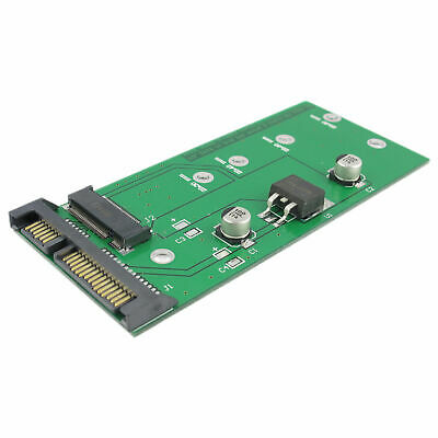NGFF M.2 SSD TO SATA III 7 15pin Converter Adapter Card Connector For Linux/Unix