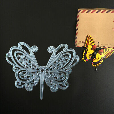 Metal Cutting Dies Butterfly Shape Troquel Flore Cut Embossing Paper Craft DIY