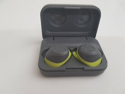 Jabra - Elite Sport True Wireless Earbud Headphones - Lime Green / Gray