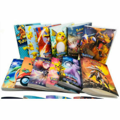 2019 New Pokemon Cards Album Book List Card Collectors Capacity Cards Holder