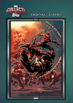 2019 COMIC BOOK DAY SILVER CARNAGE #2 Topps Marvel Collect Digital Card