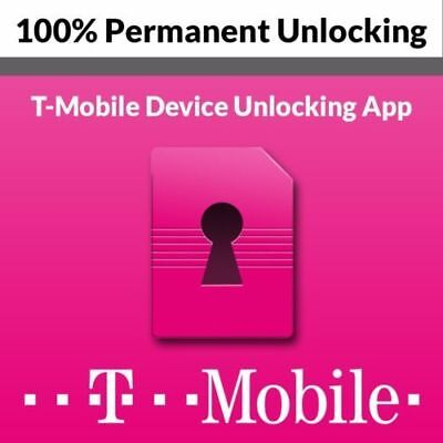 T-Mobile Android Official Unlock (Mobile Device Unlock app) 1-7 Day all IMEI...