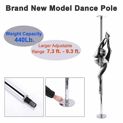 45mm Portable Stainless Steel Dance Pole Spinning Static Dancing Fitness Newest